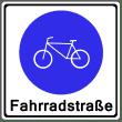 VZ 244-1 - Beginn einer Fahradstraße