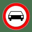 VZ 251 - Verbot für Kraftwagen