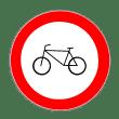 VZ 254 - Verbot für Radverkehr