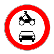VZ 260 - Verbot für Kraftfahrzeuge