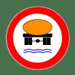 VZ 269 - Verbot für Fahrzeuge mit wassergefährdender Ladung
