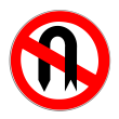 VZ 272 - Verbot des Wendens
