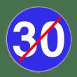 VZ 279 - Ende der vorgeschriebenen Mindestgeschwindigkeit