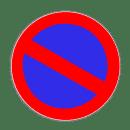 VZ 286 - Eingeschränktes Halteverbot