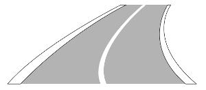 VZ 295 - Fahrstreifen- und Fahrbahnbegrenzung