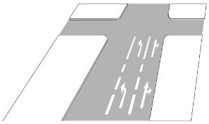 VZ 297 - Pfeilmarkierungen