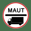 VZ 390 - Maut-Pflicht nach dem Autobahnmautgesetz