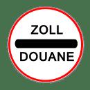 VZ 392- Zollstelle