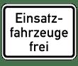 VZ 1226-33 - Einsatzfahrzeuge frei