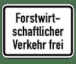 VZ 1026-37 - Forstwirtschaftlicher Verkehr