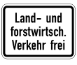 VZ 1026-38 - Land- und forstwirtschaftlicher <br /></noscript>  Verkehr