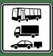VZ 1049-13 - nur Lastkraftwagen - Kraftomnibusse und Personenkraftwagen