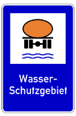 VZ 354 - Wasserschutzgebiet