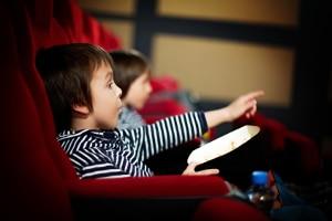 Die Altersbeschränkung für Filme ist eher strikt.
