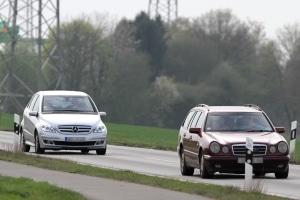 Ein angemessener Sicherheitsabstand kann dazu beitragen, Unfälle zu vermeiden.