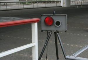 Vorsicht, Baustellen-Blitzer!  Geschwindigkeitsüberschreitungen in einer Baustelle können teuer werden.