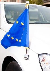 Fahrzeuge einiger Behörden haben Sonderkennzeichen