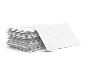 Die Brieflaufzeiten geben an, wie lange die Post von der Einlieferung bis zur Zustellung unterwegs ist.