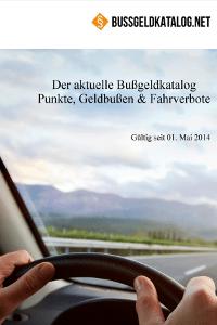 Aktueller Bußgeldkatalog 2020 als PDF-Download.
