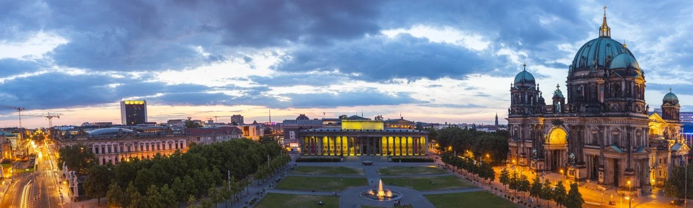 Die Bußgeldstelle in Berlin befindet sich am Standort des Polizeipräsidenten.