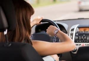 Fahren unter Termindruck im Fahrsicherheitstraining.