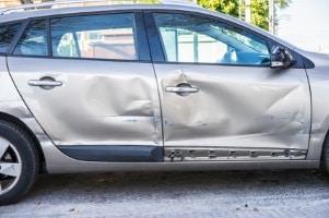 Bei einem Fahrtraining ist ein Unfall selten.
