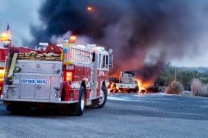 Das Mitführen von einem Feuerlöscher ist generell auch anderen Fahrzeugführern empfohlen.