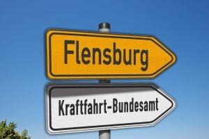 Das KBA in Flensburg: Die Punktereform hat einiges verändert.