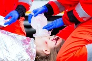 Ein Frontalzusammenstoß endet oft mit Schwerverletzten.