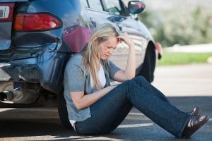 Ist der Führerschein auf Probe? Ein Unfall mit Personenschaden sollte der Polizei gemeldet werden