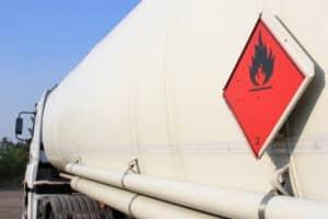 Für Gefahrgut bei LKW gibt es spezielle Bestimmungen.