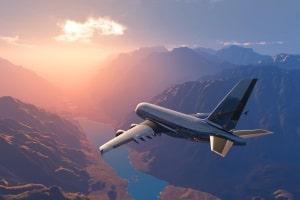 Ein Transport von Gefahrgut per Luftfracht ist nicht selten.