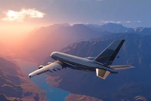 Gefahrgut kann auch als Luftfracht befördert werden.