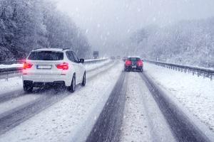 Die maximale Geschwindigkeit wird in Finnland vielerorts im Winter abgesenkt.