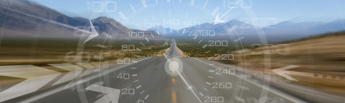 Headerbild Geschwindigkeitsüberschreitung