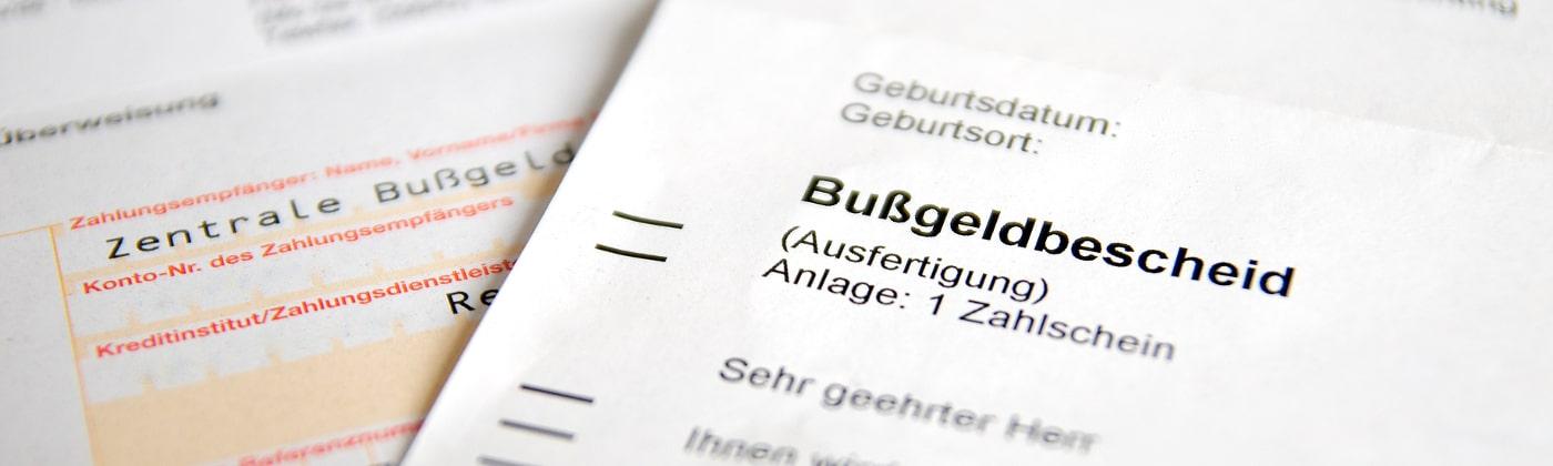 Zentrale Bußgeldstelle in Sachsen-Anhalt
