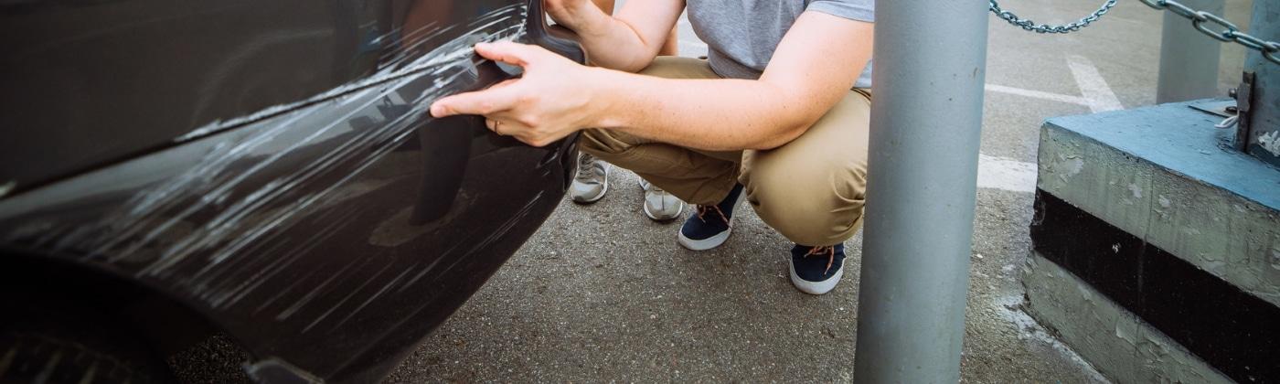 Header Fahrerflucht Strafe Kratzer