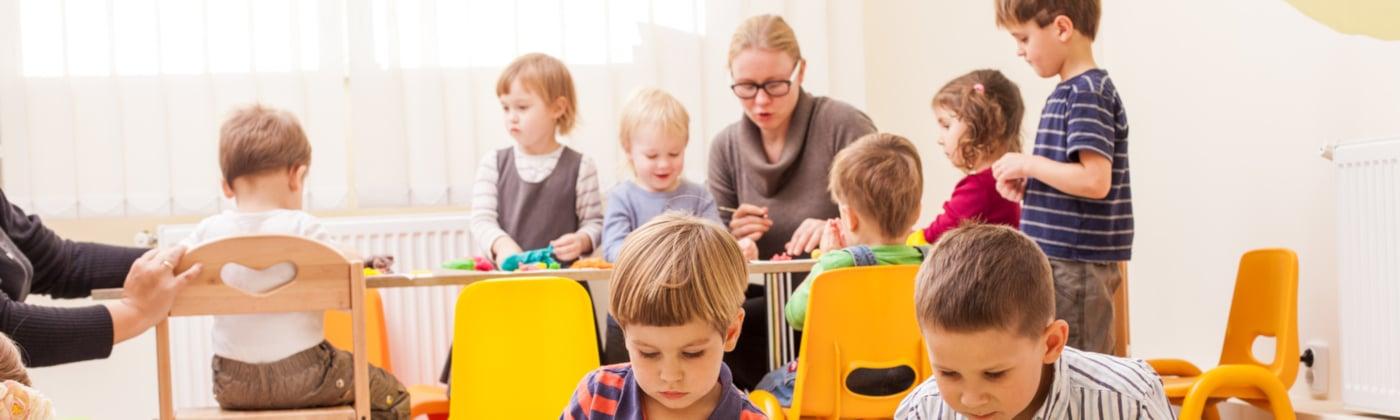 Headerbild Lärmbelästigung durch Kindergarten