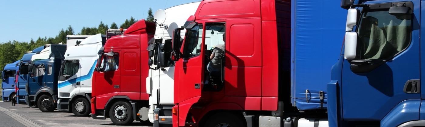 Header Pausenzeiten für Lkw-Fahrer