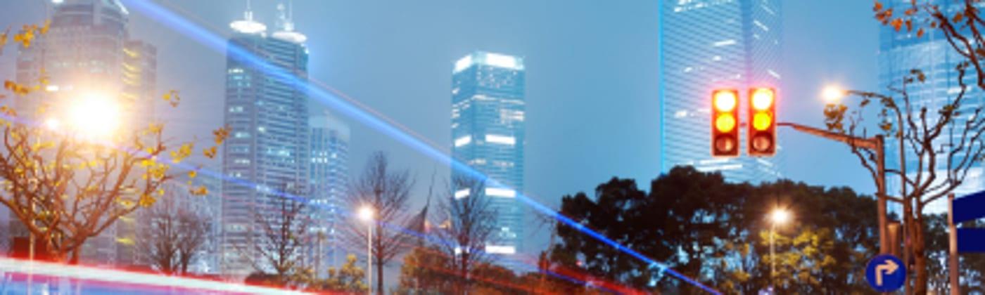 Das Lasermessgerät RIEGL FG21-P nutzt Infrarottechnik zur Erfassung der Geschwindigkeit.