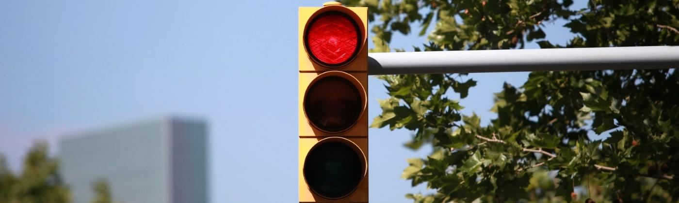 Rote Ampel: Wird 2 Mal geblitzt?