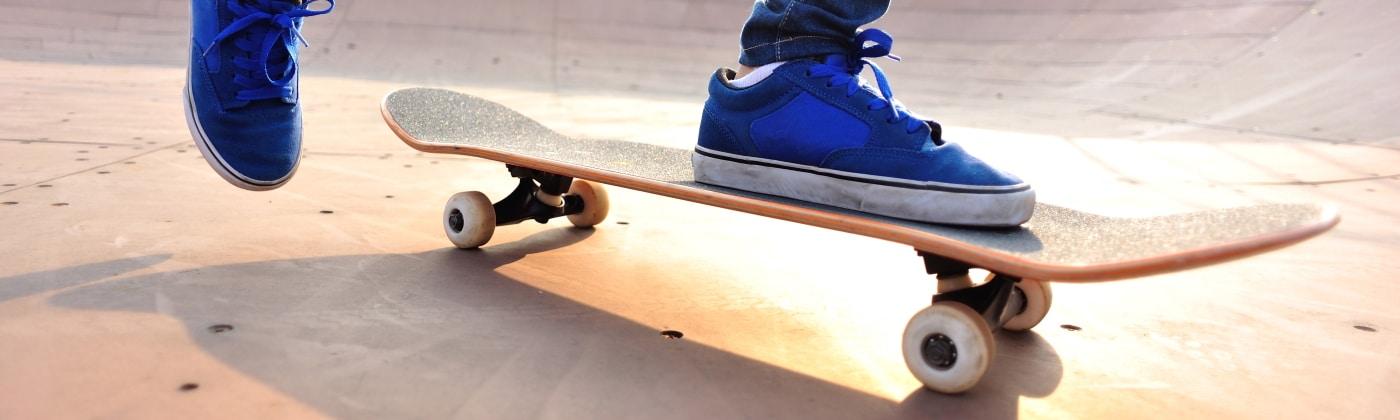 Header Skateboard fahren lernen