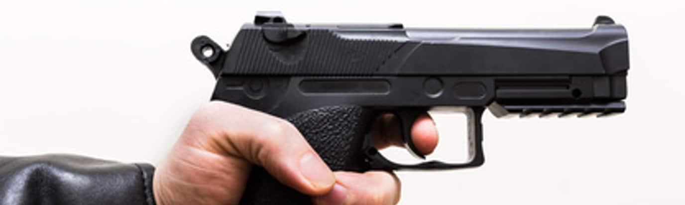 Der Waffenbesitz ist in Deutschland unter strengen Auflagen erlaubt.