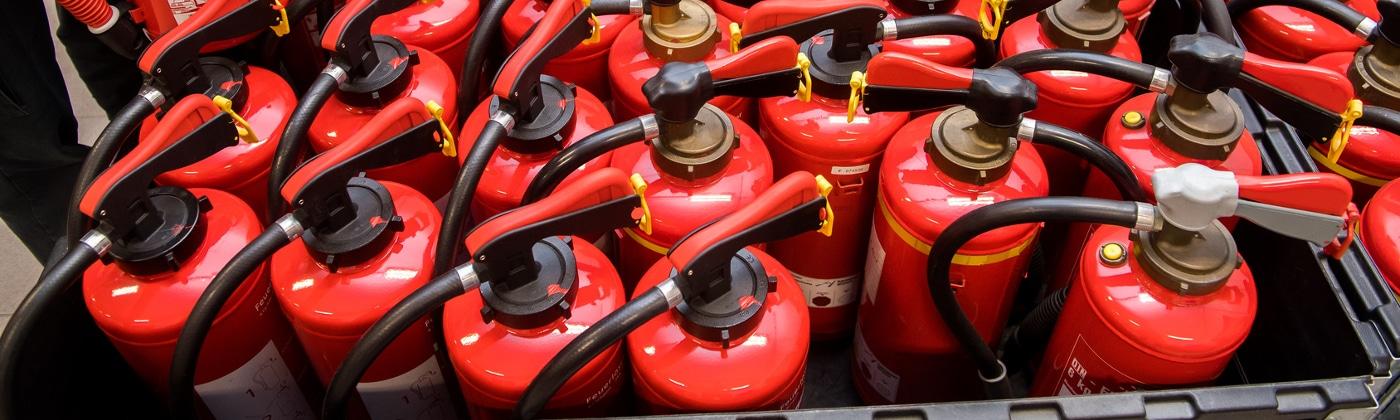 In allen Bussen müssen Feuerlöscher vorhanden und griffbereit sein.