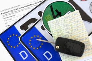 Informationen zur zugelassenen Kennzeichengröße in Deutschland