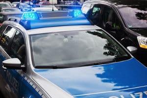 Welche Besonderheit gilt für Kfz-Kennzeichen der Polizei?