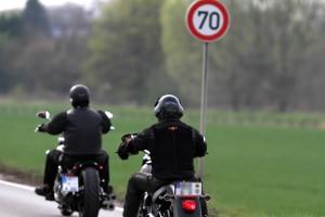 Können Motorradfahrer geblitzt werden?