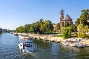 Das Land Brandenburg hat seine Bußgeldstelle in Gransee an der Havel.