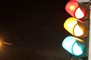 Der bekannteste Vertreter der Lichtzeichenanlage ist die Ampel.