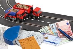 Für den Warentransport ist u. a. der Einsatz einer Lkw-Fahrerkarte vorgeschrieben